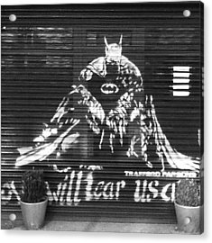 Love Will Tear Us Apart #batman Acrylic Print