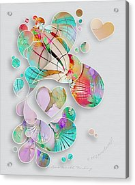Love Worth Finding Acrylic Print by Gayle Odsather
