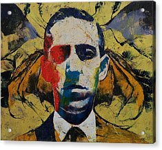 Lovecraft Acrylic Print by Michael Creese