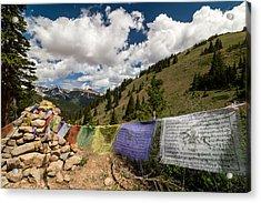 Loveland Pass Shrine Acrylic Print