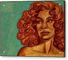 Lovely Face Acrylic Print