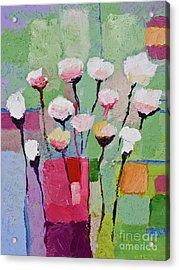 Lovely Flowers Acrylic Print by Lutz Baar