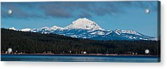 Lovely Lassen  Acrylic Print by Jan Davies