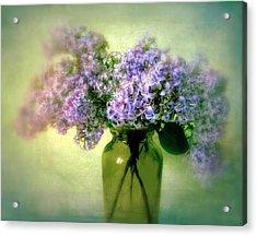 Lovely Lilac  Acrylic Print by Jessica Jenney