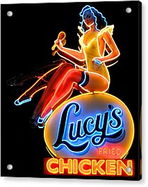 Lovely Lucy's Chicken Acrylic Print