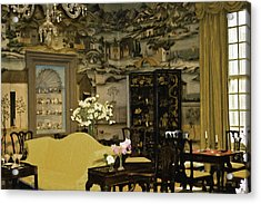 Lovely Room At Winterthur Gardens Acrylic Print by Trish Tritz