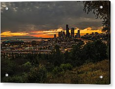 Lovely Seattle Acrylic Print