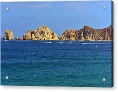 Acrylic Print featuring the photograph Lovers Beach Cabo by Christine Till