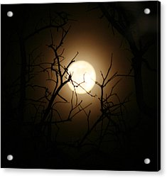 Lovers' Moon Acrylic Print