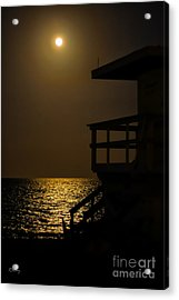 Lovers Moon Acrylic Print