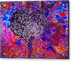 Love's Abyss And All About This Acrylic Print by Kenneth James