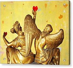 Love's Angel  C2014 Acrylic Print