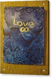Loves Blue Mood Acrylic Print