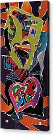 Love's It Acrylic Print by Kenneth James