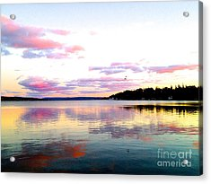 Love's Sky Acrylic Print by Margie Amberge