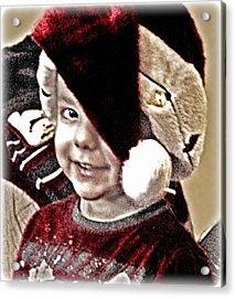 Lovin Christmas Acrylic Print