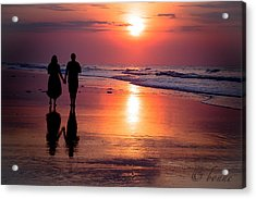 Lovin Reflections  Acrylic Print