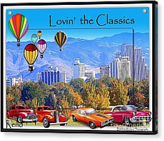 Lovin The Classics Acrylic Print