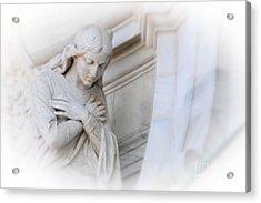 Loving Angel Acrylic Print by Kathleen Struckle