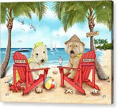 Loving Key West Acrylic Print