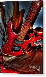Loving Red By Steven Langston Acrylic Print by Steven Lebron Langston