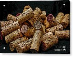 Loving Wine Acrylic Print by Patricia Hofmeester