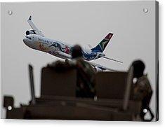 Low Airbus Acrylic Print