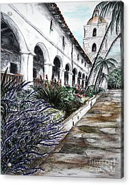 Low Angle Perspective Acrylic Print by Danuta Bennett