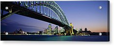 Low Angle View Of A Bridge, Sydney Acrylic Print