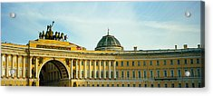 Low Angle View Of A Building, General Acrylic Print