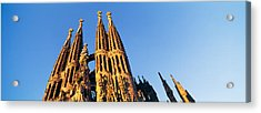 Low Angle View Of A Church, Sagrada Acrylic Print