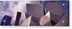 Low Angle View Of A Concert Hall, Walt Acrylic Print by Panoramic Images