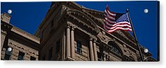 Low Angle View Of A Courthouse, Fort Acrylic Print by Panoramic Images