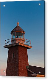 Low Angle View Of A Lighthouse Museum Acrylic Print by Panoramic Images