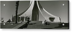 Low Angle View Of A Monument, Martyrs Acrylic Print by Panoramic Images