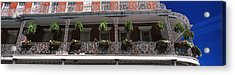 Low Angle View Of A Restaurant, Rivers Acrylic Print by Panoramic Images