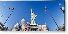 Low Angle View Of A Statue, Replica Acrylic Print by Panoramic Images