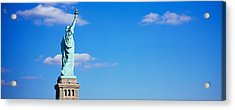 Low Angle View Of A Statue, Statue Acrylic Print by Panoramic Images