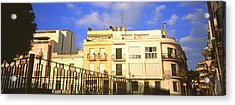 Low Angle View Of Buildings, Sitges Acrylic Print