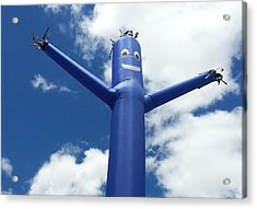 Low Angle View Of Inflatable Acrylic Print by Sonia Martinez / Eyeem