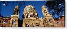 Low Angle View Of Jewish Synagogue Acrylic Print by Panoramic Images