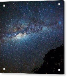Low Angle View Of Majestic Star Field Acrylic Print by Brent Purcell / Eyeem