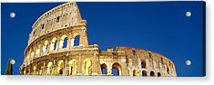 Low Angle View Of Ruins Of An Acrylic Print by Panoramic Images