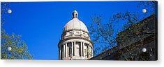 Low Angle View Of State Capitol Acrylic Print by Panoramic Images