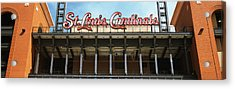 Low Angle View Of The Busch Stadium Acrylic Print