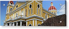 Low Angle View Of The Cathedral Acrylic Print