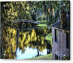 Acrylic Print featuring the photograph Low Country Impressions by Jim Hill