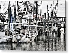 Low Country Small Craft Acrylic Print by Scott Hansen