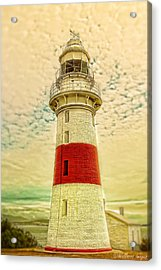 Low Head Lighthouse Acrylic Print by Wallaroo Images