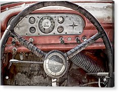 Low Mileage Mercury Acrylic Print